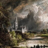 In search of Constable's Salisbury Cathedral.
