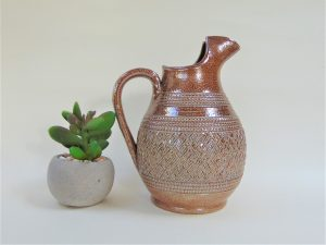 salt glaze, pitcher, salt glaze jug, vintage ceramics, vintage pottery,