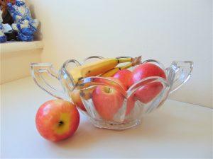 george davidson, chippendale glass, glass bowl, art deco glass,