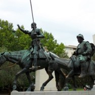 Don Quixote, Cervantes and a souvenir of Madrid.