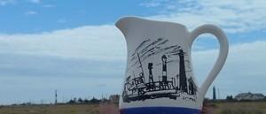 Dungeness Lifeboat Mug Scene