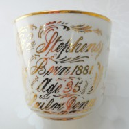 A moustache cup, Sailor Jonie and Bloom-in James Joyce